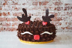 Gluten-Free Christmas Chocolate Cake