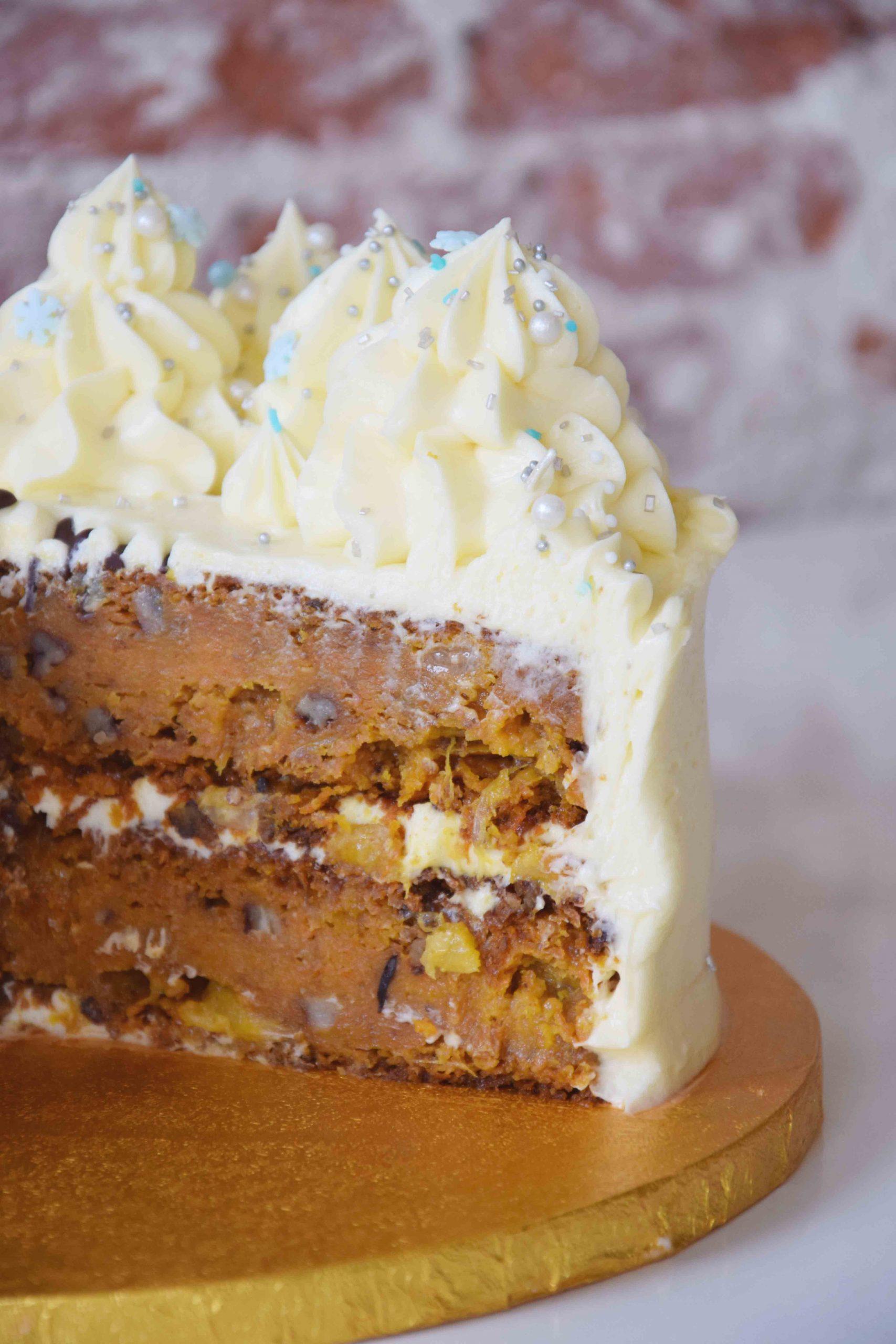 Carrot Cake full decoration
