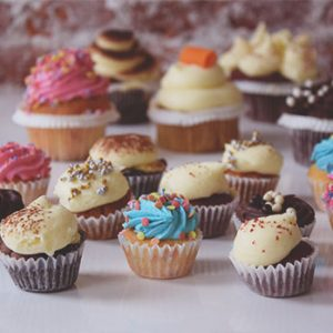 Mini Cupcakes Christmas
