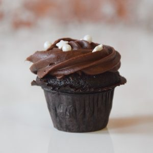 Mini Devils Food Cupcake