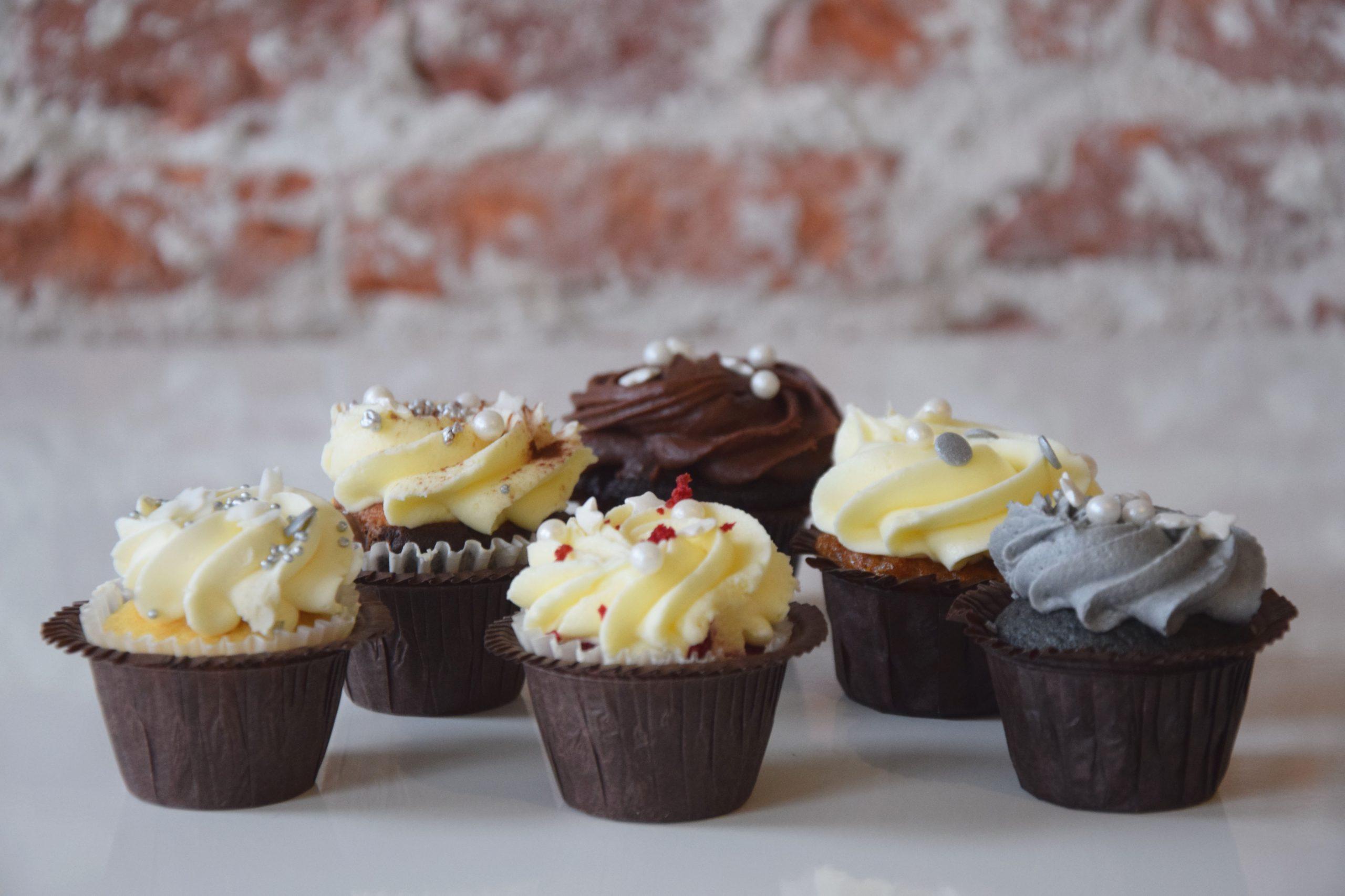 Dozijn Mini Cupcake