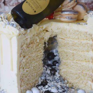 Sparkling Surprise Cake